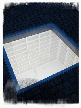 """The memorial 'Bibliotek' (Library) was created by artist Micha Ullman, son of German Jewish immigrants; his """"holes and constructions accentuate the emptiness of human structures"""" (Israel Museum). - by SL Wong"""