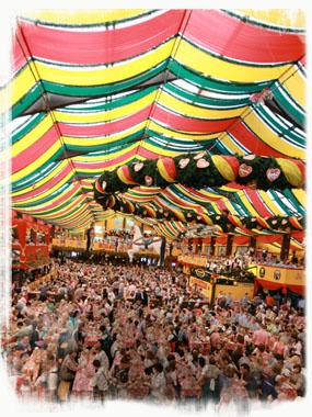 Oktoberfest - Festzelt Hippodrom - by SL Wong