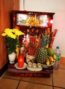 Many German Vietnamese practise Taoism/Buddhism. - by SL Wong